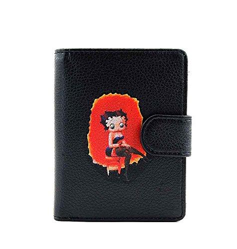 Betty Boop Small Wallet (Black)