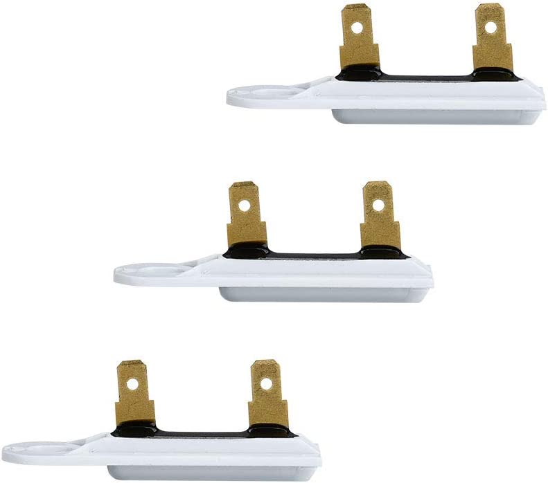 AMI PARTS 3392519 Dryer Thermal Fuse Replacement Part for Whirlpool & Kenmore Dryers(3pcs)