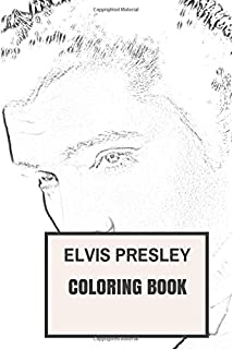 elvis presley inspired coloring book classic rock and roll and the king inspired adult coloring - Beatles Coloring Book