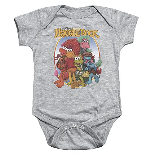 Group Hug -- Fraggle Rock Infant One-Piece Snapsuit, 12 Months