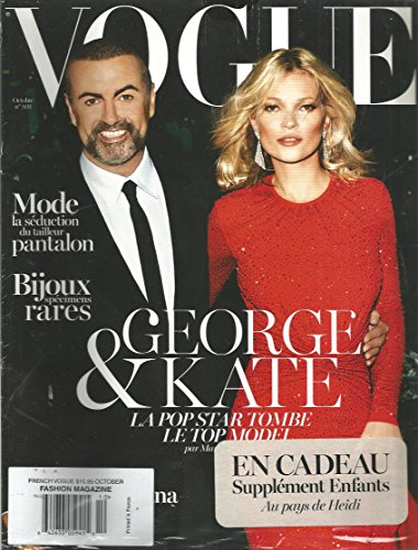 Vogue French Magazine (October 2012,Kate Moss - Vogue Kate Moss