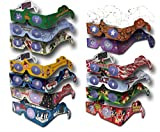 23 Pairs Holiday Eyes (TM) XMAS Glasses - 14 Different Styles - Jingle Bells - Ships Flat