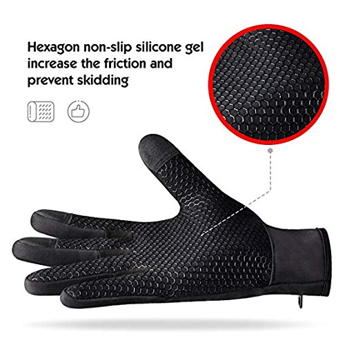 Winter Gloves Touch Screen Gloves Outdoor Windproof Work Cycling
