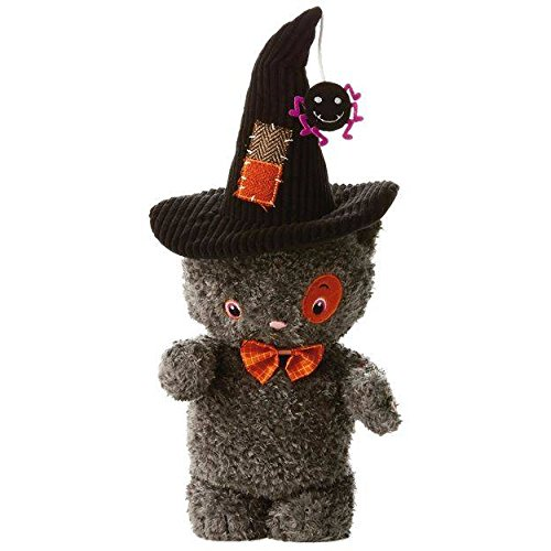 Hallmark Stitch the Cat Stuffed Animal With Sound and Motion (Halloween Sounds And Songs)