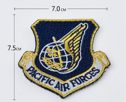 Usaf Base (USAF PACIFIC AIR FORCES COLLECTOR PATCH PACAF JOINT BASE HARBOR HICKHAM VELCRO PATCH)
