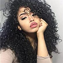 ATOZWIG 7A Indian 360 Lace Virgin Hair Deep Curly 360 Lace Frontal Closure With Baby Hair Around 22x4x2 Lace Band Frontals Bleached Knots