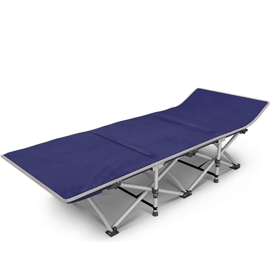 promociones emocionantes Cama Plegable Plegable Plegable Individual Siesta Bed Office Recliner Plegable Lunch Bed Cama de acompañamiento Reforzada de Doble Capa, Doble Oxford Cloth ( Color : Plus Pad )  tienda de ventas outlet