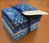 Sea & Sky Batik 10 pc Fat Quarter Bundle by