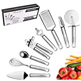 pekebo 8 Piece Stainless Steel Kitchen Tools Set
