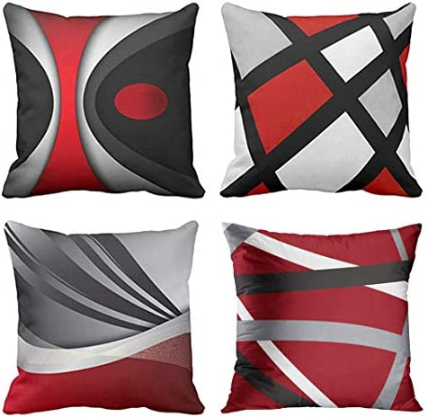 Emvency Abstract Stripes Decorative Pillowcases product image