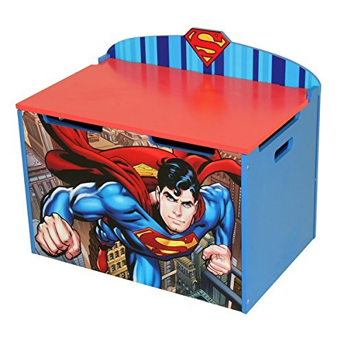 Superman Multicolor MDF Toy Box
