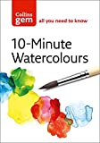 img - for Collins Gem 10-Minute Watercolours: Techniques & Tips for Quick Watercolours book / textbook / text book