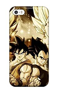 Durable Defender Case For Iphone 5/5s Tpu Cover(vegito And Gogeta )