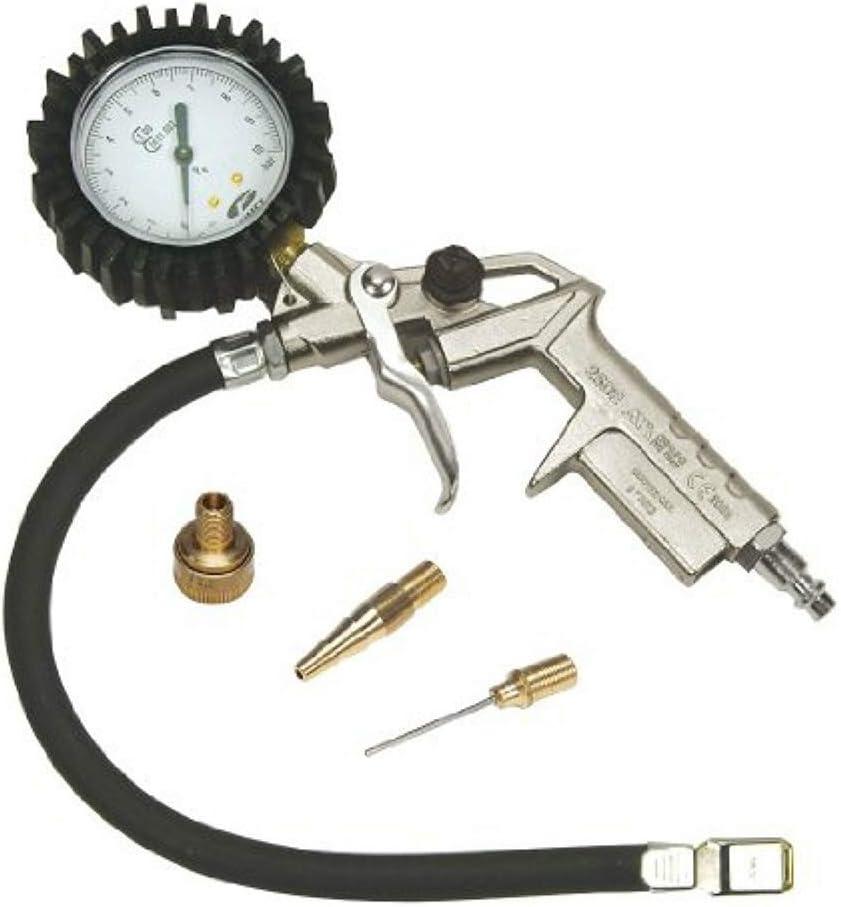 STANLEY 150534XSTN - Kit pistola de inflado homologada en metal + 3 acoplamientos