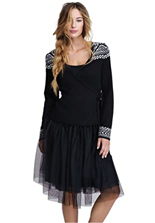 b48d3c1fba Ellos Women s Plus Size Carrie Tulle Skirt at Amazon Women s ...