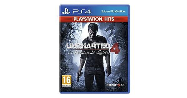 El Desenlace Del Ladrón Hits - Edición Uncharted 4, Versión 16: Amazon.es: Videojuegos