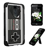 LG Tribute 5 Case / LG K7 Case, DuroCase ® Transforma Kickstand Bumper Case for LG Tribute 5 / LG K7 (Released in 2016) – (Game Controller) For Sale