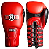 Ringside IMF Pro Fight Gloves, Red, 12-Ounce