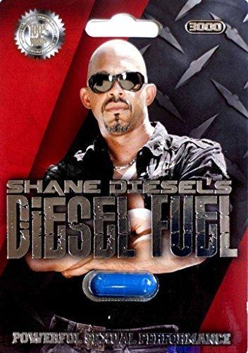 1 Pk Shane Diesels Pill Diesel Fuel 3000 Powerful Male Sexual Performance By Shane Diesels