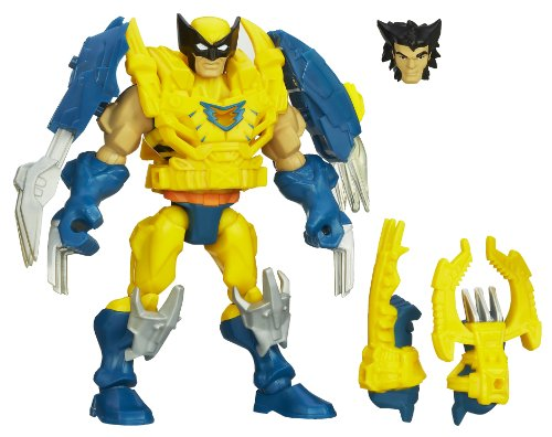 Marvel Super Hero Mashers Electronic Wolverine Figure