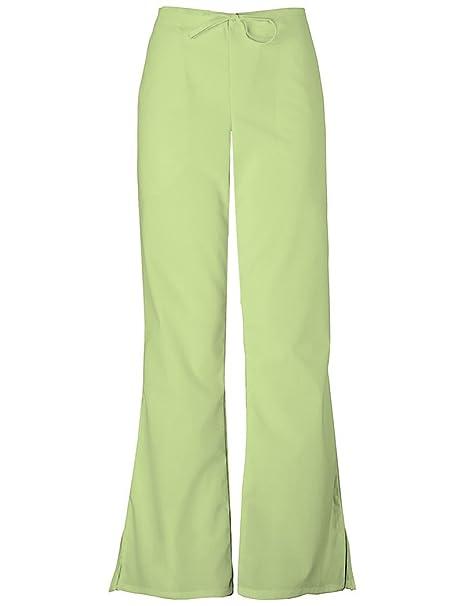 740f4caa18b Cherokee Workwear Women's 4101 Flare Leg Drawstring Scrub Pant- Celadon-  Large