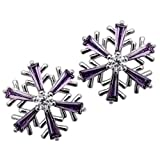 YACQ Jewelry Snowflake Crystal Stud Earrings Christmas Thanksgiving - Best Reviews Guide