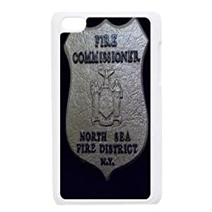 Ipod Touch 4 Csaes Cell Phone Case Firefighter Emblem CBQG293003