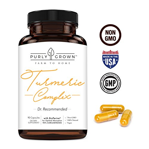 Turm Me Up: Turmeric Curcumin, BioPerine & Black Pepper Blend: Daily Anti Inflammatory Supplement for Health & Joint Benefits - Turmeric Root Extract and Organic Powder