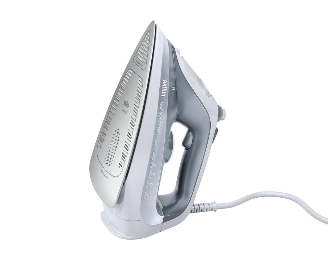 Braun SI7042GR Fer à repasser avec Semelles eloxal 3D 0, 3 L 2400 W 0127403004