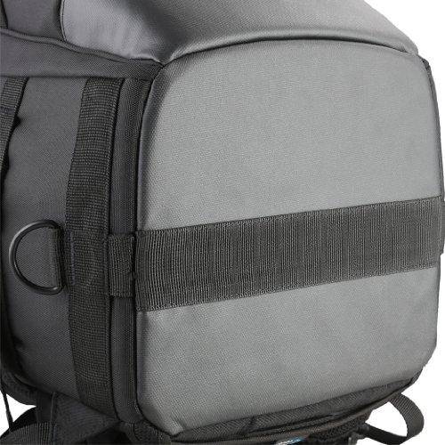Vanguard QUOVIO 66 Zaino Fotografica Professionale per Reflex con Teleobiettivo, 36X27X66 cm, Nero
