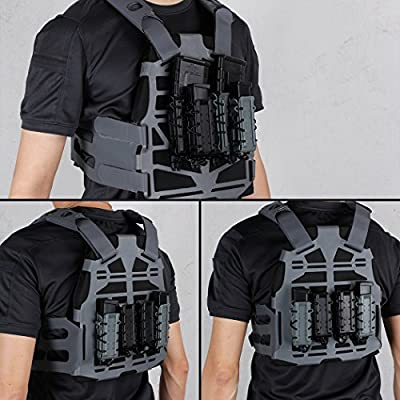 IDOGEAR Mag Pouch 9mm Pistol Magazine Pouches Molle Tactical Airsoft Poly Mag Carrier Hunting Equipment Holder