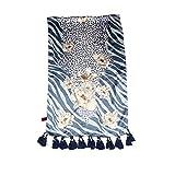 Silk Satin handmade scarves/Silk blown elegant silk scarf-B One Size