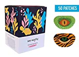 See Worthy Tiger and Lizard Adhesive Kids Eye Patches, Innovative Shape, Smart Adhesive Technology, Breathable Material...