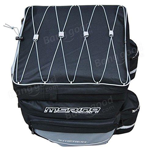 Bazaar 3 en 1 imperméable à dos de bicyclette sac de vélo de montagne de tissu en nylon
