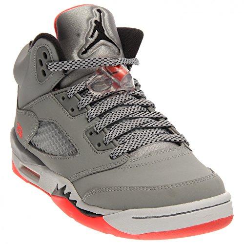best website 7c59b 2a006 Nike Air Jordan 5 Retro Gg, Zapatillas de Running Para Niñas Gris   Negro