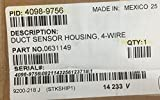 Simplex 4098-9756 Air Duct 4 Wire Sensor Housing Smoke Detector Fire Alarm