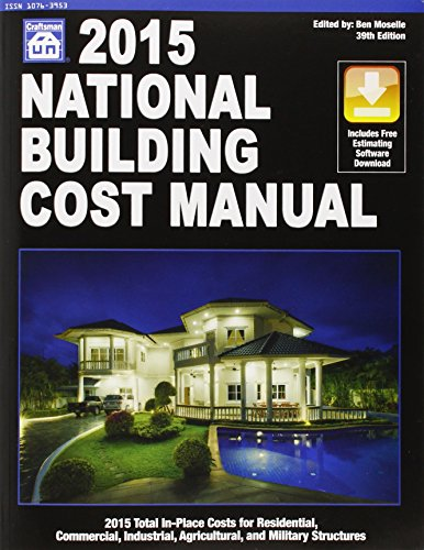 National Building Cost Manual 2015 by Craftsman Book Co