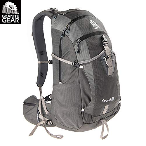 GraniteGear Granite Outdoor Hiking Backpack Men and Women Travel Backpack 28 liters with rain Cover