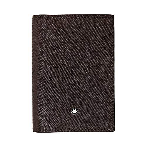 Montblanc Sartorial Men's Medium Leather Business Card Holder 113224