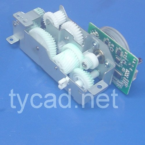 HP RG5-4183-110CN HP 5000 Gear drive assembly for 500-sheet