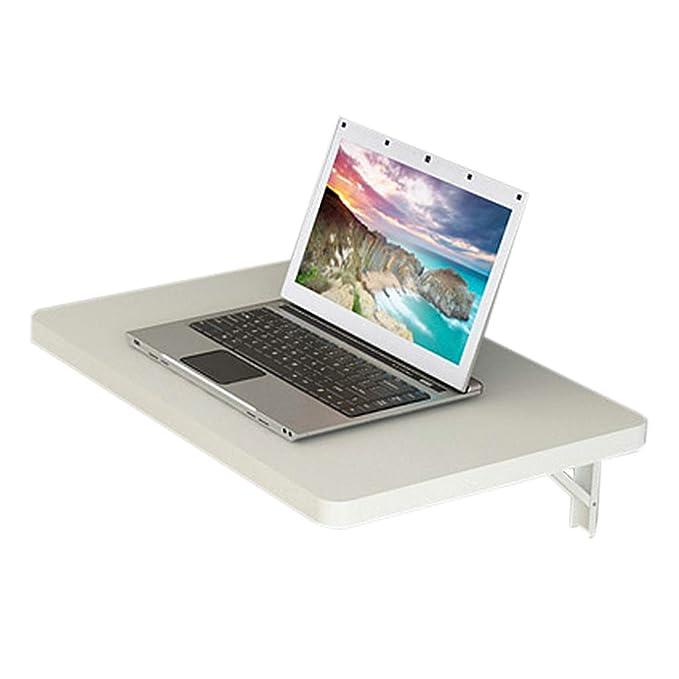 WRRAC-Table Escritorio Plegable para computadora de Oficina, Mesa ...