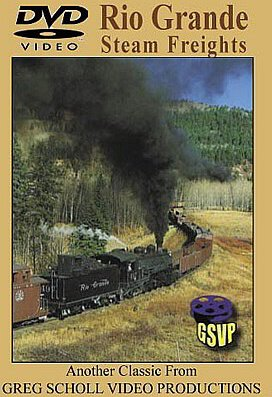 Rio Grande Steam Freights (Greg Scholl Video Productions) [DVD] [2004]