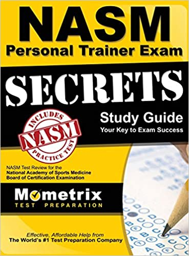 buy secrets of the nasm personal trainer exam study guide: nasm test ...