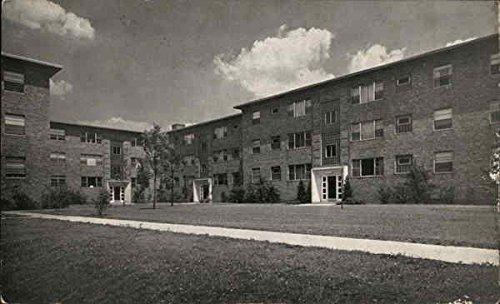 Grange Garden (Homestead Garden Apartments La Grange Park, Illinois Original Vintage Postcard)