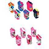 #8: Mickey and Minnie Mouse 6 pack Socks (Toddler/Little Kid/Big Kid/Teen/Adult)