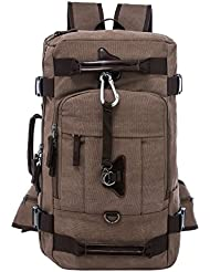 Riavika Canvas Backpack Travel Rucksack Backpack