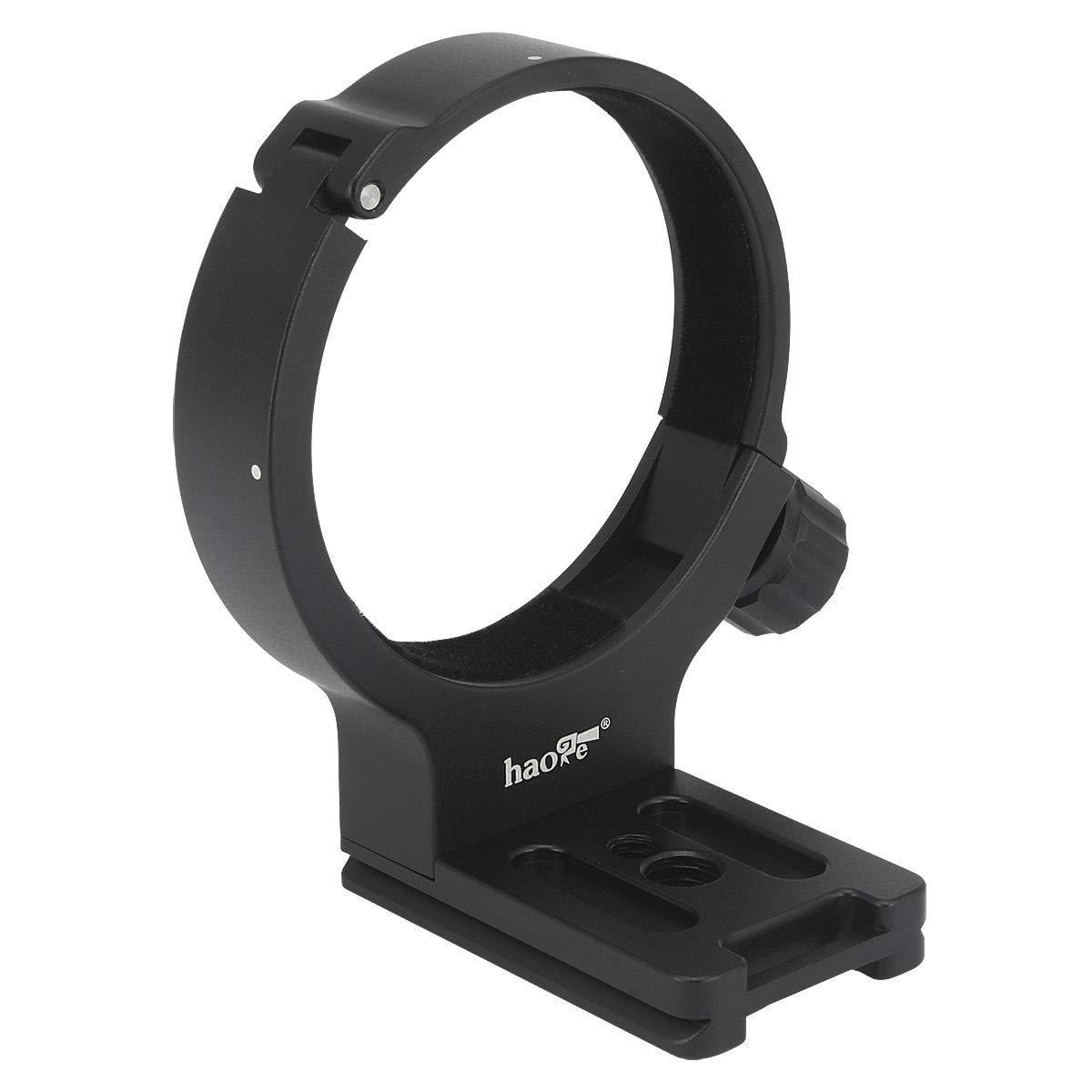 Haoge LMR-C100 Lens Collar Replacement Foot Tripod Mount Ring D for Canon EF 100mm f/2.8L Macro is USM Lens Built-in Arca Type Quick Release Plate by Haoge