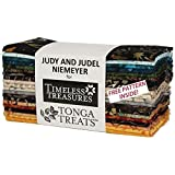 Timeless Treasures Painters Palette Tonga Batiks 6 Pack 20 strips 6 x 44