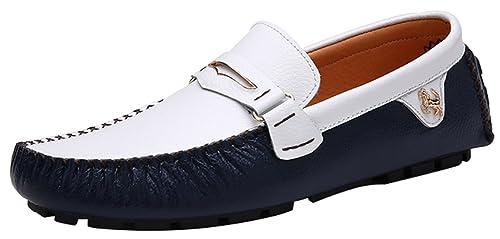 CFP - Botas mocasines hombre , color azul, talla 39.5 EU