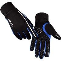 AFIT Unisex Outdoor Waterdichte Fietsen Running Klimmen Rijhandschoenen, Touch Screen Anti-slip Sport Handschoenen, Warm…